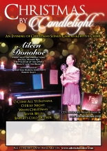 cristmans by candle light 2014 Poster With text