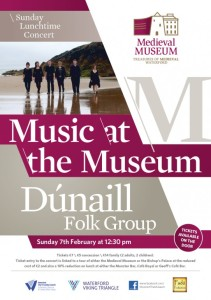 Poster Dúnaill Folk Group