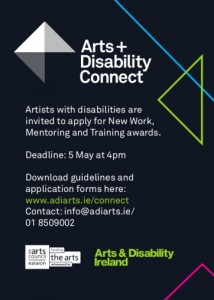 arts and disabilities ADI Connect Ad 2016