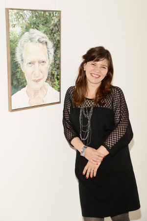 Vera Klute winner of the 2015 Hennessy Portrait Prize