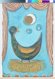 Gerald DIllon, 'Clown's Bird Painting'