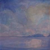 BLAWNIN CLANCY Helvick Islands, Co Waterford (Oil on canvas 60x60cm)