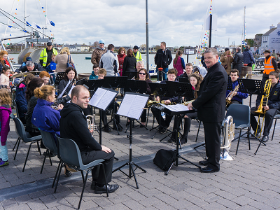 Dungarvan Brass Band at Food Festival