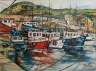 Harbour View by Bríd Ní Chionnfhaolaidh