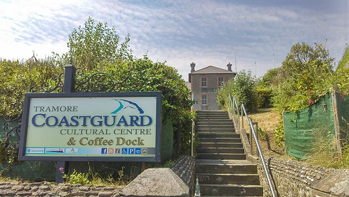 coastguard Cultural Centre sign