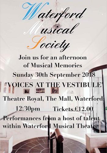 voices in the vestibule