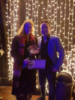 Runners up for Best Short Film- Homecoming directed by Sinéad O'Loughlin